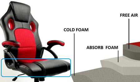 Fotel Gamingowy Carrera Black Pro Edition