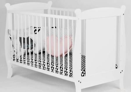 Łóżeczko Laura 120x60 Białe