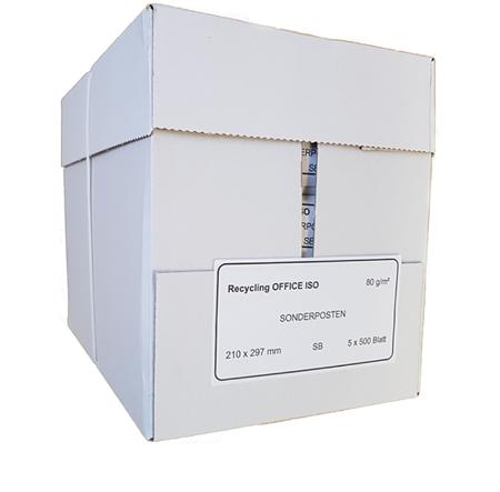Papier ksero A4 Office ISO 60-80g - 1 karton (5 ryz)