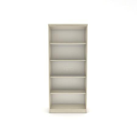 Regał biurowy, wysoki 182 cm, szerokość 80cm Lisa L,  kolor wg. wzornika